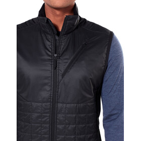 Icebreaker Helix Gilet Uomo, black/jet heather